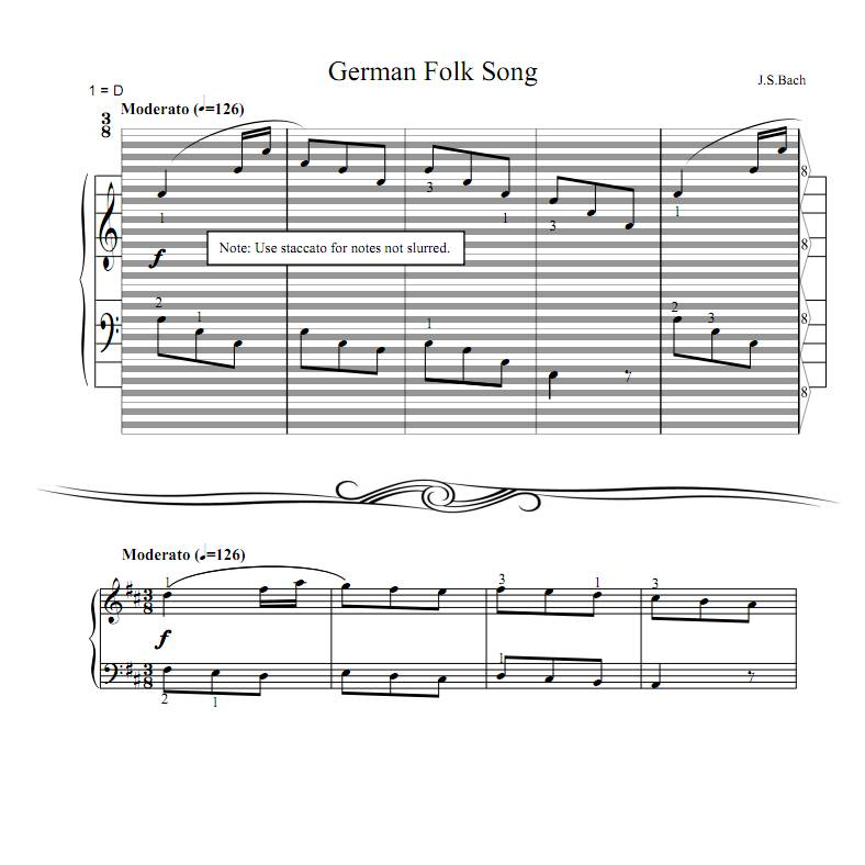 All Products : haostaff.com - New Piano Roll Sheet Music