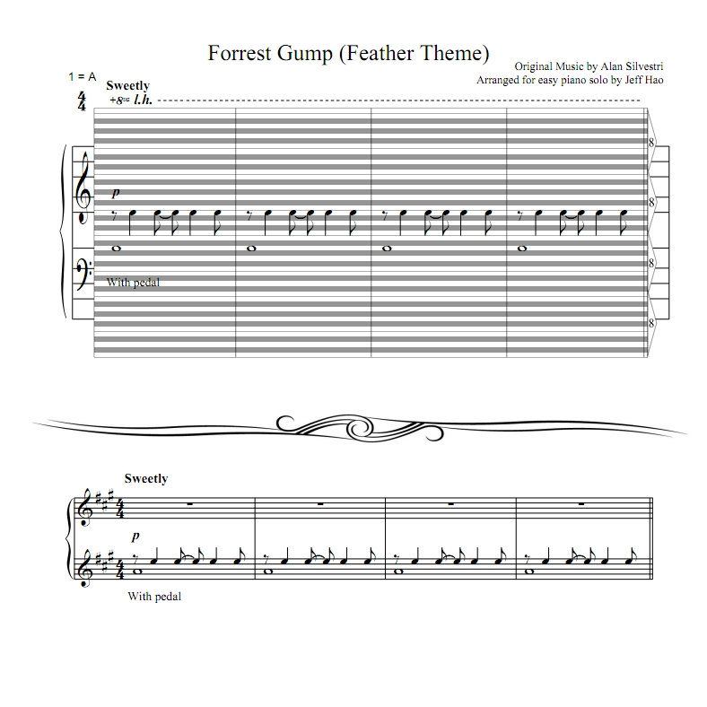 Canon In D Pachelbel Jazz Version For Piano Solo Sheet: What Is Hao Staff? : Haostaff.com