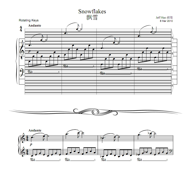 Product Comments : haostaff.com - New Piano Roll Sheet Music